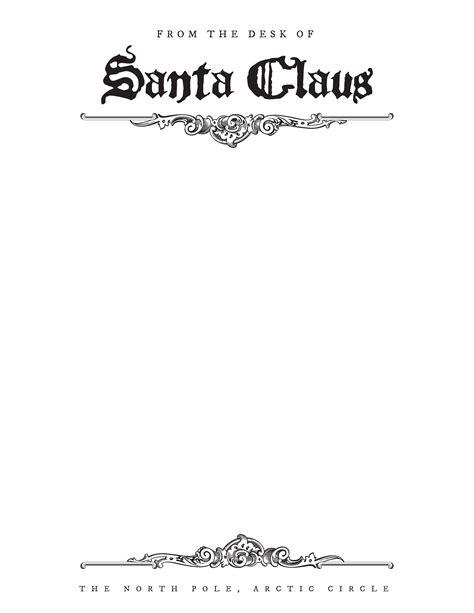 downloadable blank editable letters  santa