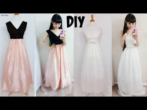 diy easy wedding dress prom dress from scratch floor length diy formal dress