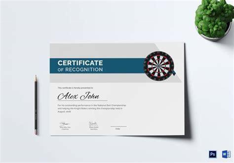 award certificate templates  examples samples