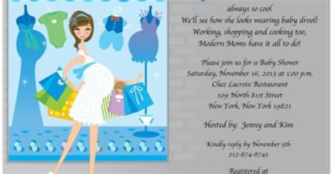 Drop In Baby Shower - shop until you drop baby shower invitation baby shower