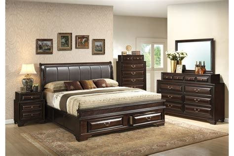 cheap bed headboards bedroom sets coast cappuccino king size storage