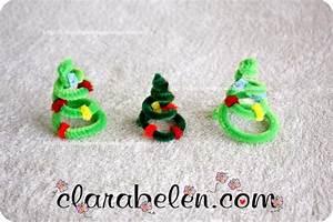 Cómo hacer adornos navideños con limpiapipas: árbol de