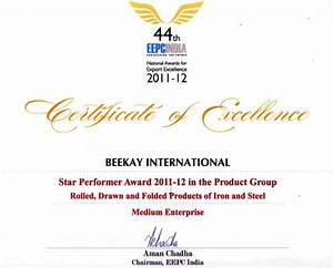 awards With star performer certificate templates