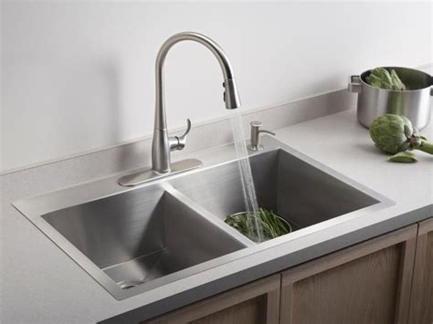 kitchen sink materials pros and cons meer dan 1000 idee 235 n rvs spoelbakken op