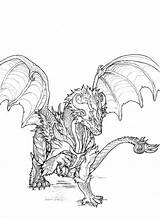 Dragon Drawings Monsters Coloring Wyvern Monster Drawing Yoru Draw Baby Sketch Sapphire Pages Reference Deviantart Dragons Cool Template Drew Scaned sketch template