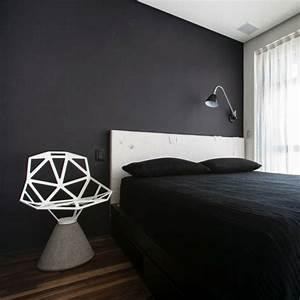 Schwarze Möbel Welche Wandfarbe : wandfarbe schwarz 59 beispiele f r gelungene innendesigns fresh ideen f r das interieur ~ Bigdaddyawards.com Haus und Dekorationen