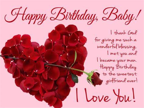 romantic birthday wishes  girlfriend