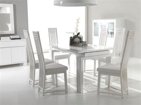 furniture modern dining chairs wood and table for