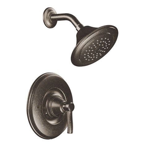 moen shower trim moen rothbury posi temp 1 handle shower only in rubbed
