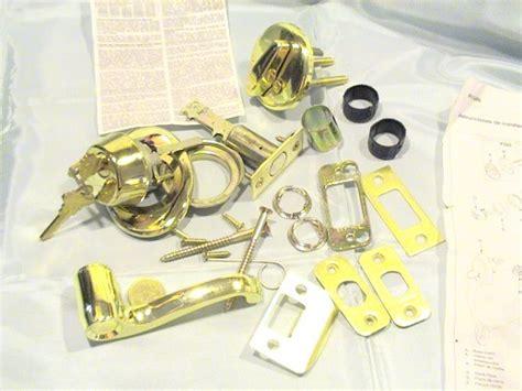 Schlage Door Entry Deadbolt And Handle Parts