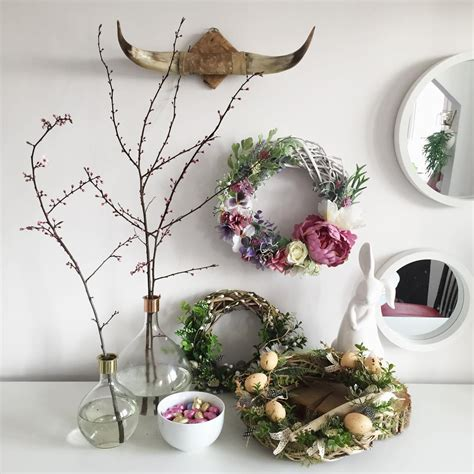 cute rustic decor ideas   cozy easter