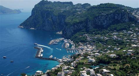 Capri Island Italy Cruise Port Schedule Cruisemapper