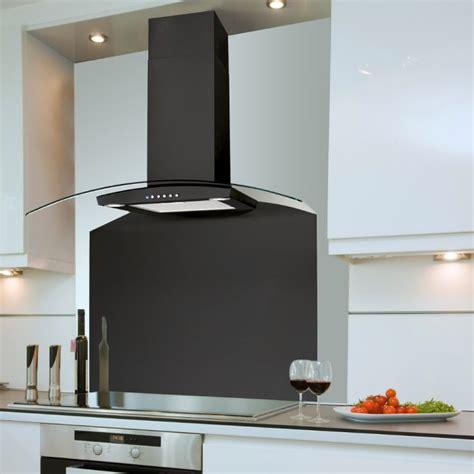 bathroom extractor fans 60cm curved cooker black