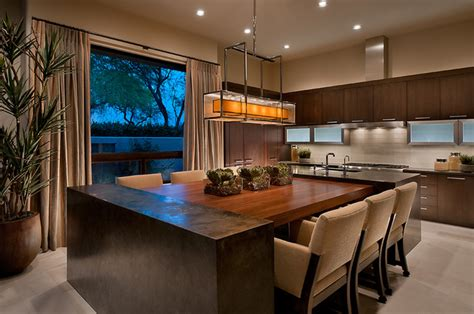 modern kitchen island table ownby design contemporary kitchen by ownby 7719