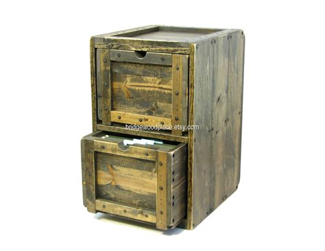 rustic lateral file cabinet file cabinet rustic solid wood office filing by