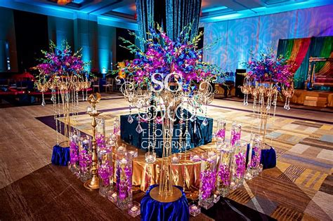 marriage attorneys purple and turquoise wedding decor
