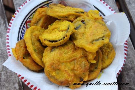 la recette simple  rapide des beignets daubergine