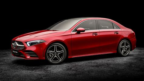 See design, performance and technology features, as well as models, pricing, photos and more. MERCEDES BENZ A-Class L Sedan specs & photos - 2018, 2019 ...