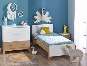Lit Enfant Garcon : petite chambre enfant archipel blanc ch ne avec lit ~ Farleysfitness.com Idées de Décoration