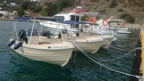 Small Motor Boat Licence by Small Motor Boat Without License ενοικίαση σκαφών σίφνος