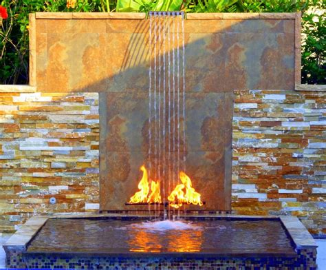 outdoor wall waterfall 38 amazing outdoor water walls for your backyard digsdigs