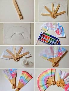 Basteln Für Den Sommer : f cher basteln f r eine originelle deko zu verschiedenen anl ssen bastelideen crafts craft ~ Buech-reservation.com Haus und Dekorationen