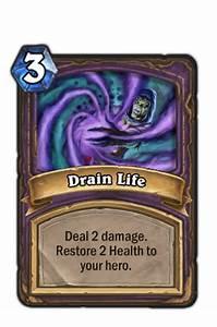 Drain Life Hearthstone Heroes Of Warcraft Wiki FANDOM