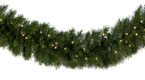 lighted christmas garland dunhill fir prelit christmas
