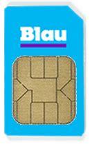blau prepaid sim karte  bestellen simkarte kaufende