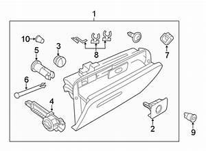 Volkswagen Beetle Glove Box Door Hinge Pin  Convertible   Coupe   Front  Navigation