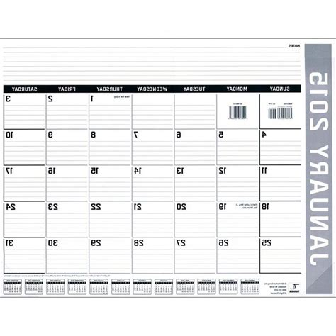 custom photo desk pad calendar