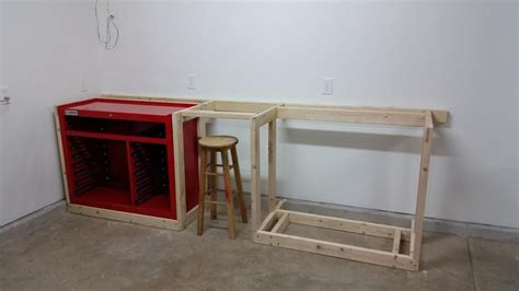 harbor freight tool box wood workbench