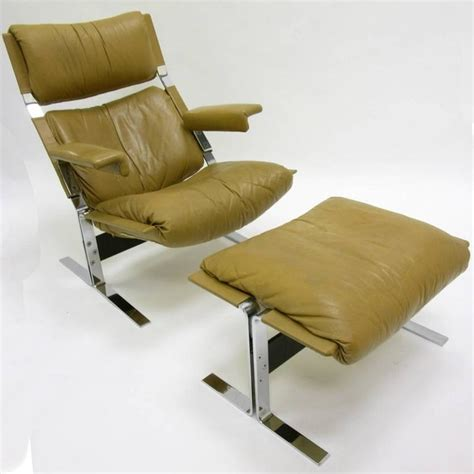 comfortable leather chair and ottoman comfortable steel and leather lounge chair and ottoman by