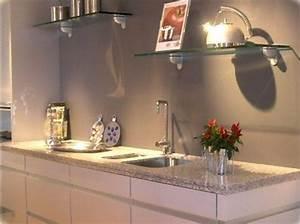 Plan De Travail Cuisine Granit : cuisine plan de travail de cuisine moderne clair en granit ~ Dallasstarsshop.com Idées de Décoration