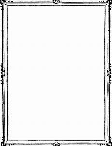 simple double border - /page_frames/simple_ornamental ...