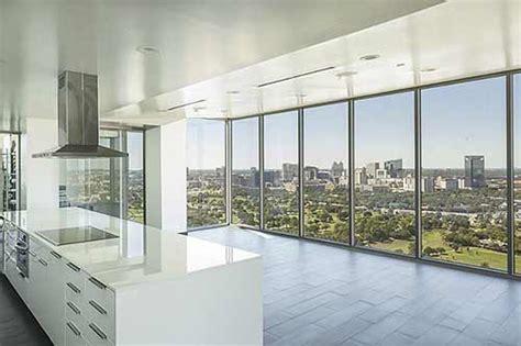 million dollar views  houston   mosaic penthouse  cost   million swamplot