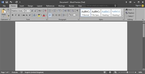 How To Enable Dark Gray Theme In Office 2016