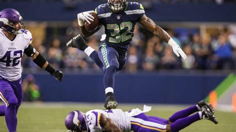 seahawks rookie running  chris carson   roster
