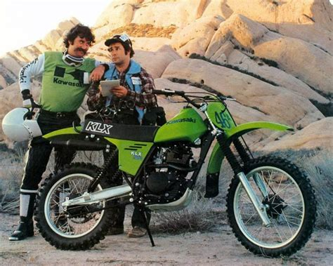 1980 Kawasaki Klx250 Enduro Motorcycle Factory Photo C7040