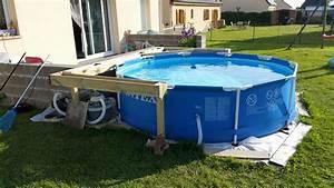 Habillage piscine autoporté intex Piscines Plages