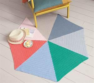 Tapis En Crochet : mon tapis au crochet prima ~ Teatrodelosmanantiales.com Idées de Décoration