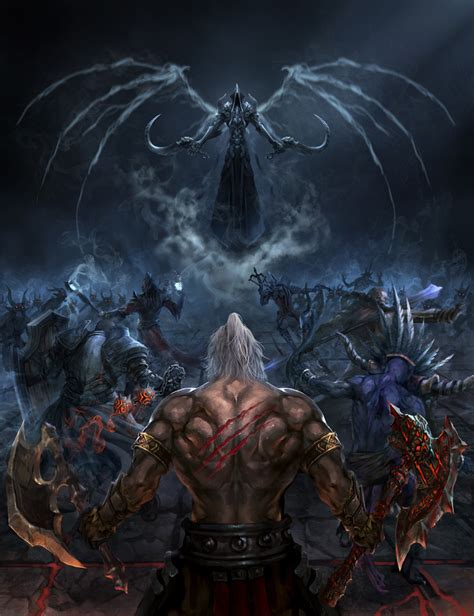 Reaper Of Souls Fan Art Contest Semi Finalists Revealed