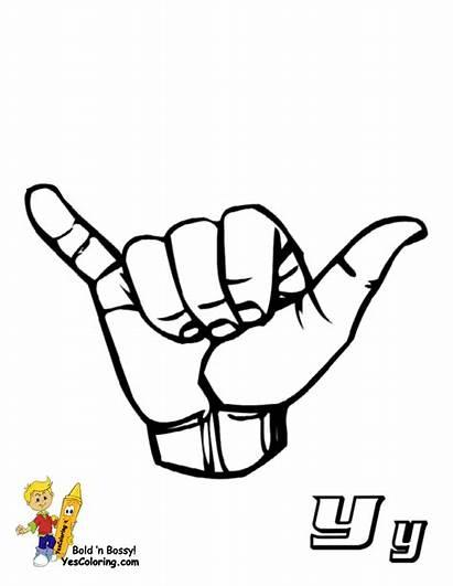 Language Sign Alphabet American Learn Asl Printable