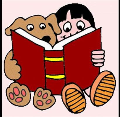 Dog Read Dogs Reading Clipart Library Child