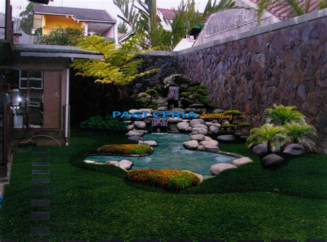 desain perspektif desain perspektif taman kolam tukang