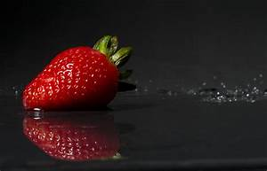Free Images : sweet, flower, food, reflection, produce, black, strawberry, power, sexy, elegant ...