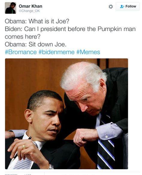 Biden And Obama Memes - biden memes see funniest tweets about trolling donald trump at the white house hollywood life