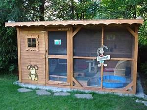 Kaninchenkäfig Für 2 Kaninchen : au engehege kaninchen tiere pinterest kaninchen hase und kaninchenstall ~ Frokenaadalensverden.com Haus und Dekorationen