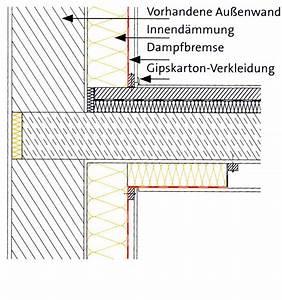 Außenwand Abdichten Altbau : innend mmung altbau au enwand sanierung baunetz wissen ~ Frokenaadalensverden.com Haus und Dekorationen