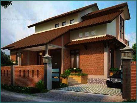 gambar rumah kampung  cantik desainrumahidcom
